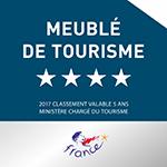 Plaque 4* meublé de tourisme